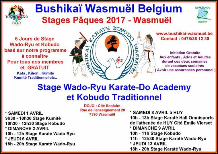 Stage Pâques 2017