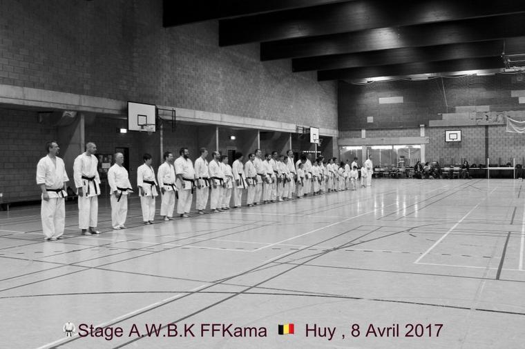 Stage AWBK FFKAMA et Examen Shodan Shiken