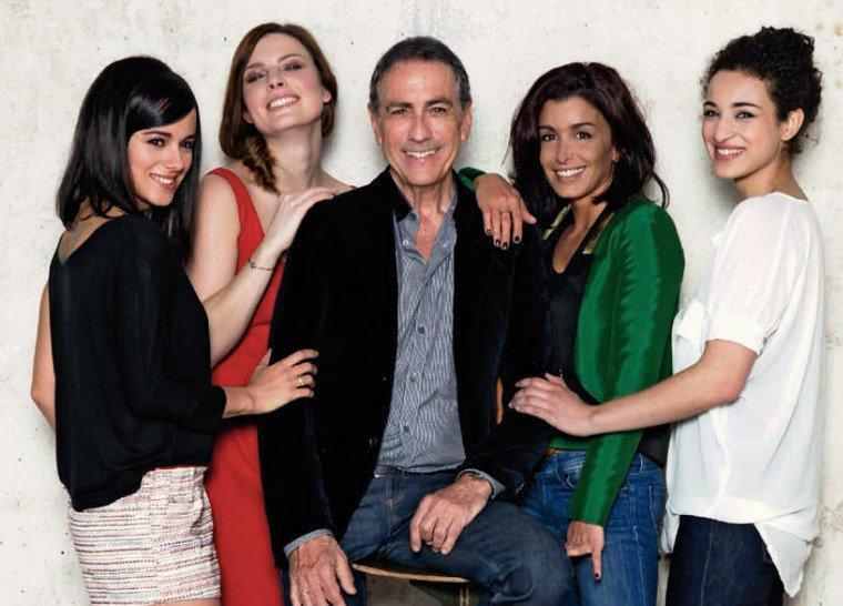 Jen, Alizée, Elodie Frégé, Alain Chamfort et Camelia