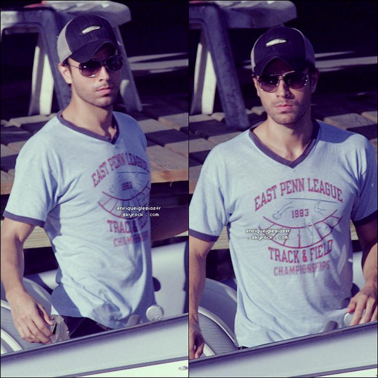 . Jeudi 14 Février 2008 : Enrique a passé la Saint-Valentin avec Anna à Miami sur leurs bateau son passe-____________________-temps favori.__________________ Flashback   .