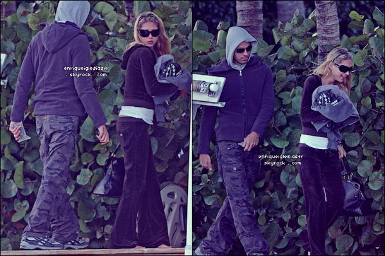. ______ Jeudi 02 Février 2008 : Enrique et Anna en ballade a Miami.______________ Flashback .