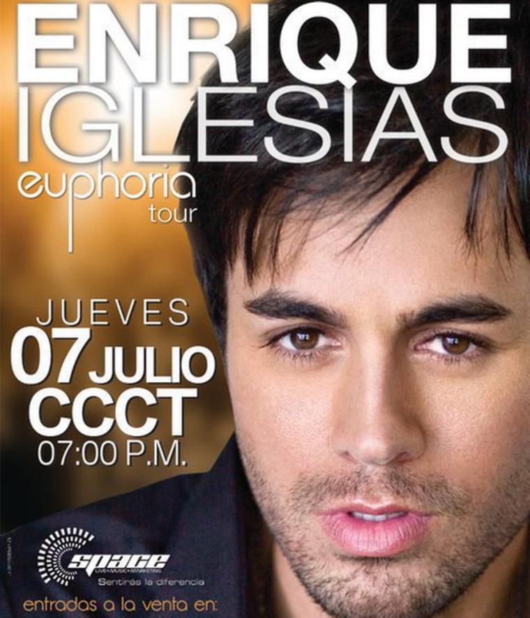 . _____Jeudi 7 Juillet : Enrique performe au Venezuela dans le cadre de sa tournée mondiale. .