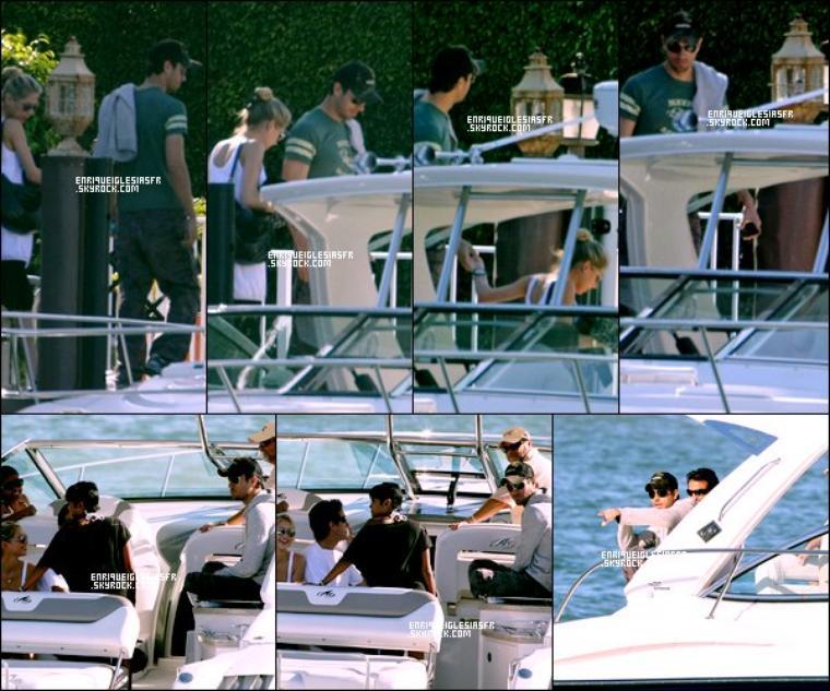 . Jeudi 11 Janvier 2009 : Anna et Enrique ont été aperçus sur leurs bateau avec des amis. ____ Flashback .