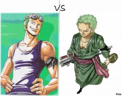 Avant VS Aprés : Zoro !