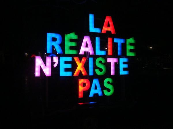 """""""La réalité c'est ce qui continue d'exister quand on cesse d'y croire."""""""