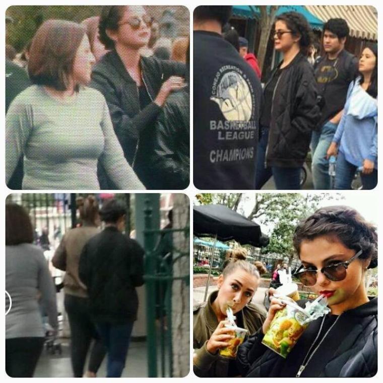Le 25 avril 2015 Selena gomez a été aperçu à Disneyland en Californie