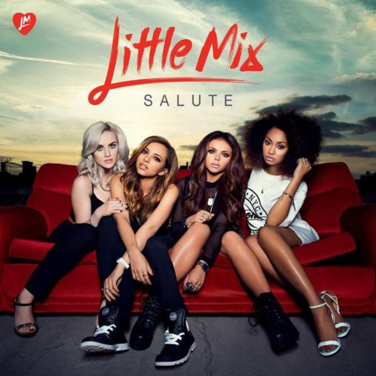 Little Mix Salute's artwork