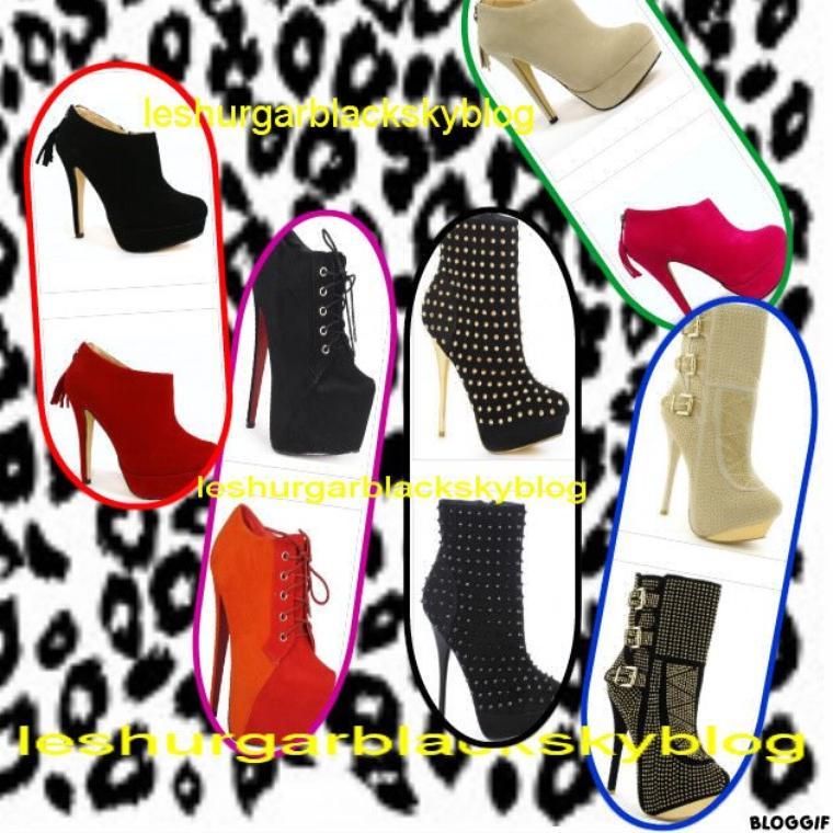 i love my shoes1er partie  des talon affirmé digne des plus grande fashionistas