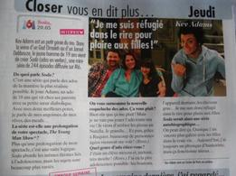 Kev' dans Closer & Public