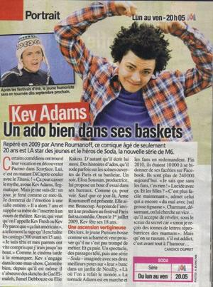 Soda & Article sur Kev'