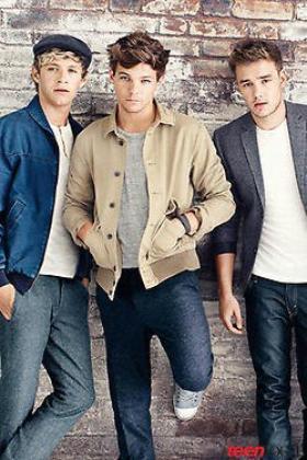 Les boys pour Teen Vogue