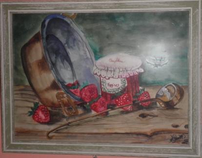Confiture de fraises....