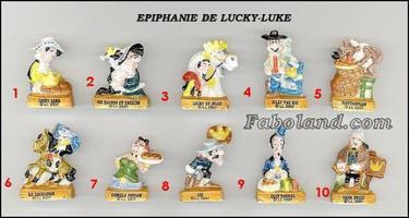 VENTE 79     -     EPIPHANIE DE LUCKY LUKE     -     0 ¤ 50     +   Frais de port