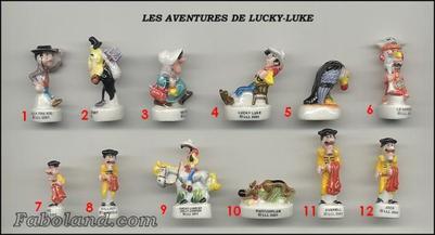 VENTE 87     -     LES AVENTURES DE LUCKY LUKE     -     0 ¤ 50     +   Frais de port