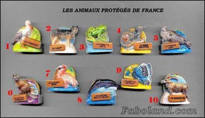 VENTE 110     -     LES ANIMAUX PROTEGES     -     0 ¤ 50     +   Frais port