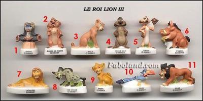VENTE 116     -     LE ROI LION 4     -     MATE     -     0 ¤ 50     +   Frais de port