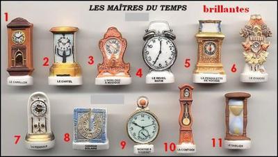 VENTE 118     -     LES MAITRES DU TEMPS     -     BRILLANTES     -     0 ¤ 50     +   Frais de port
