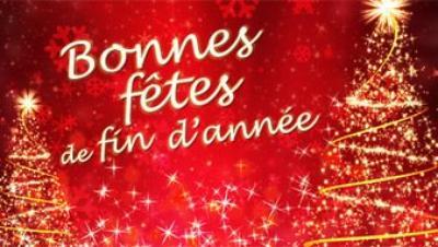 Je vous souhaite de bonnes fêtes de fin d'année