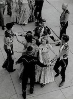 L'origine de la square dance
