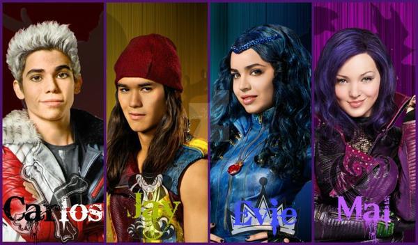 Spéculations : Descendants 2 - Les Nouveaux Enfants de Personnages de Disney.