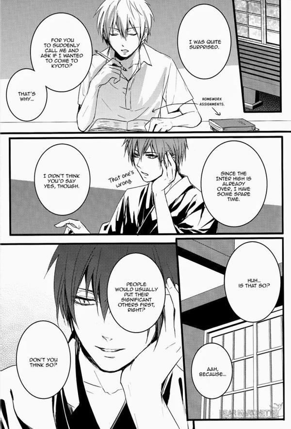 "Doujinshi : ""Dear Marionnette"" (AkaKuro) - Partie 2/3."