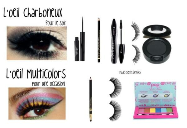Les Make-up's ♥