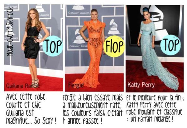 Grammy Awards 2012 : Top ou Flop ? ;$
