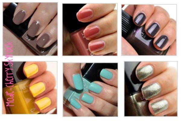 The nails of Chanel