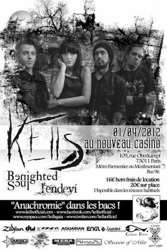 Concert de Kells le dimanche 1er avril