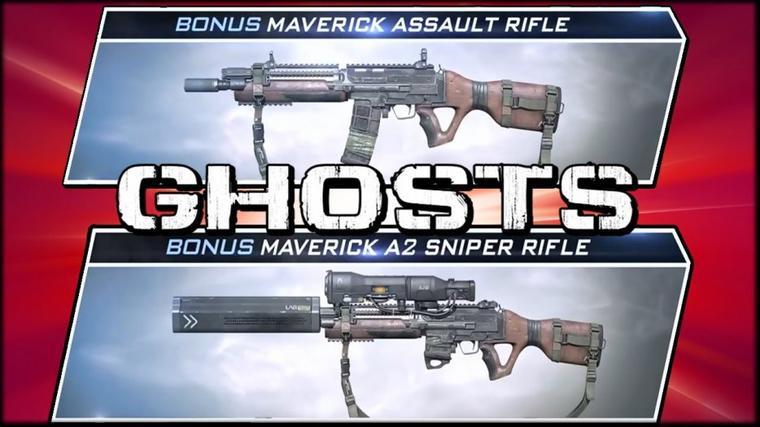 COD GHOST - Nouvelles armes !
