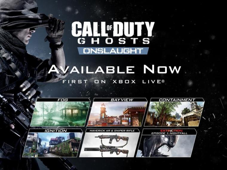 COD GHOST - Test du Pack Onslaught