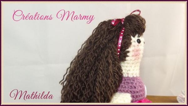 Tilda Mathilda à vendre 50$ imitant la poupée de chiffon mesure plus que 50 cm