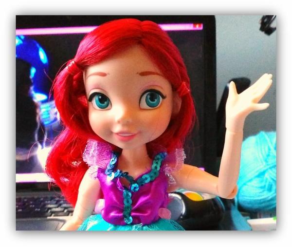 Ariel poupée Fortune Days série de 7  princesses