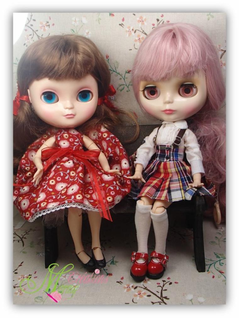 Voici Ima et Mia les deux amies (Blythe)