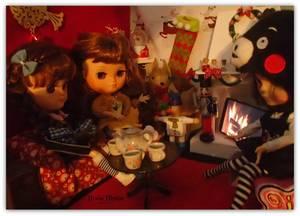 les filles prennent le thé !