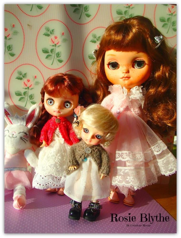 Les filles ont choisies leurs robes !