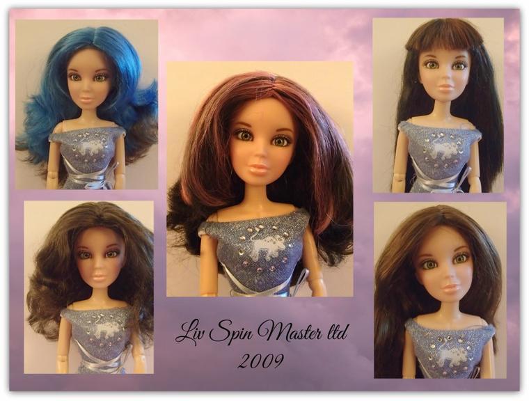 Poupées Liv Spin Master ltd 2009