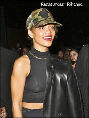 Rihanna est allée le 29 Janvier à la boite de nuit ' le Greystone Manor ' à Los Angeles !