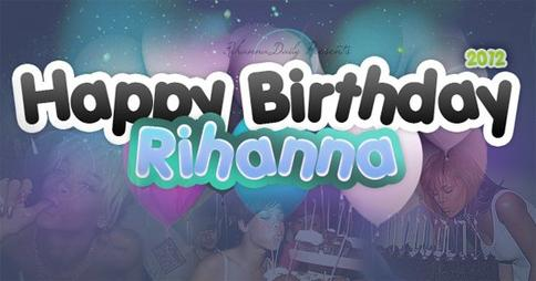 HAPPY BIRTHDAY RIRI !! 24 ANS <33.