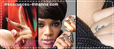 Tatoo de Rihanna ! Partie 2 !