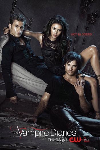 Les acteurs/personnages de Vampire diaries