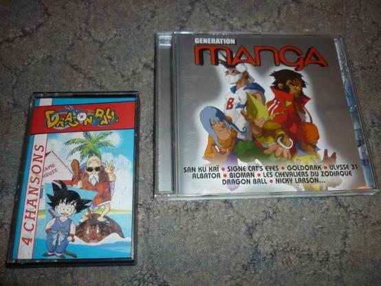 Musiques et Mangas
