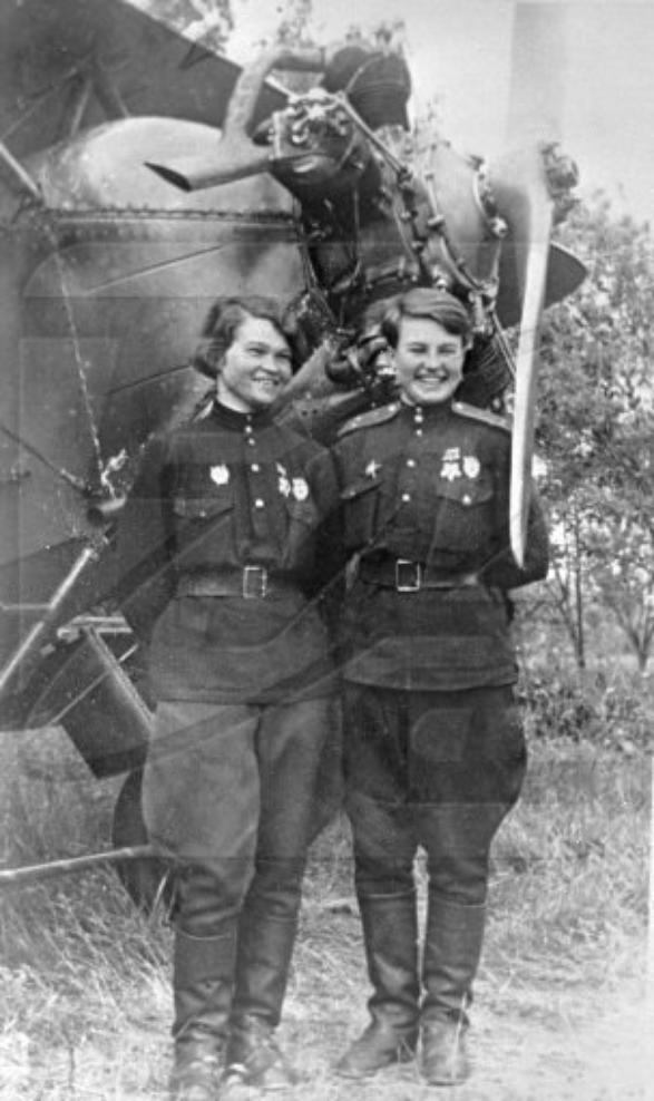 les femmes dans l'armée sur le front de l'est