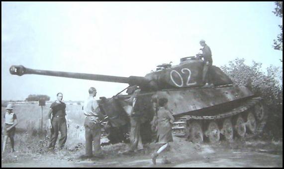 photos tigre 2  après guerre en normandie