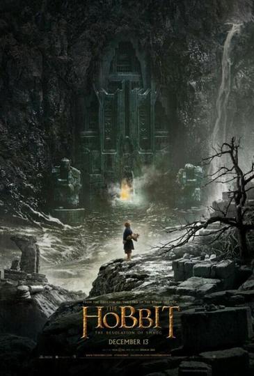 Affiche The Hobbit, la désolation de Smaug.