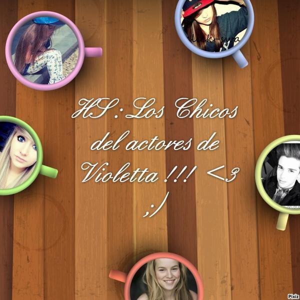 Prologue du new HS : Los Chicos del actores de Violetta !!!