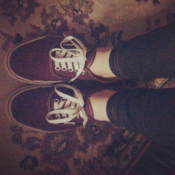 #my shoes #Van's
