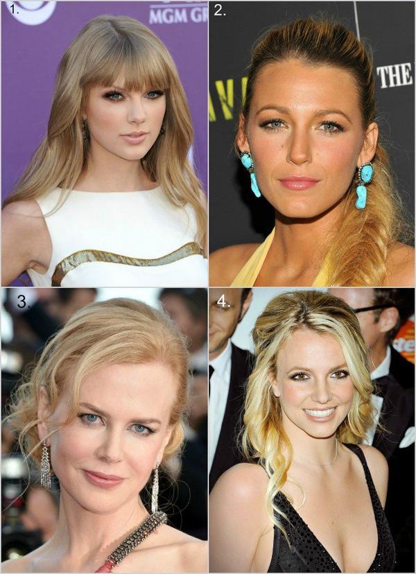 Le maquillage pour les blondes.