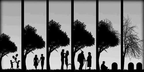 La mort n'arrête pas l'amour.