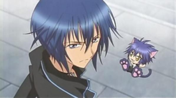 Présentation des personnages : Ikuto Tsukiyomi et son shugo chara